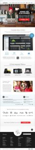 Web design for Lightspeed Retail by Noisy Ghost Co.