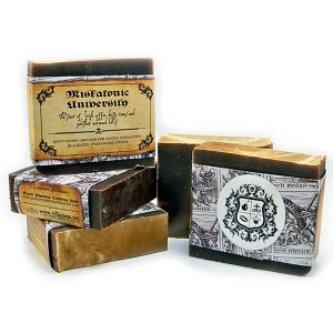 Black Phoenix Trading Post and Villainess Soaps Collaboration - Miskatonic University Soap