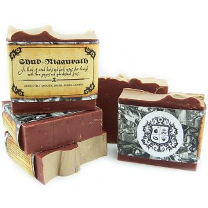 Black Phoenix Trading Post and Villainess Soaps Collaboration - Shub Niggurath Soap