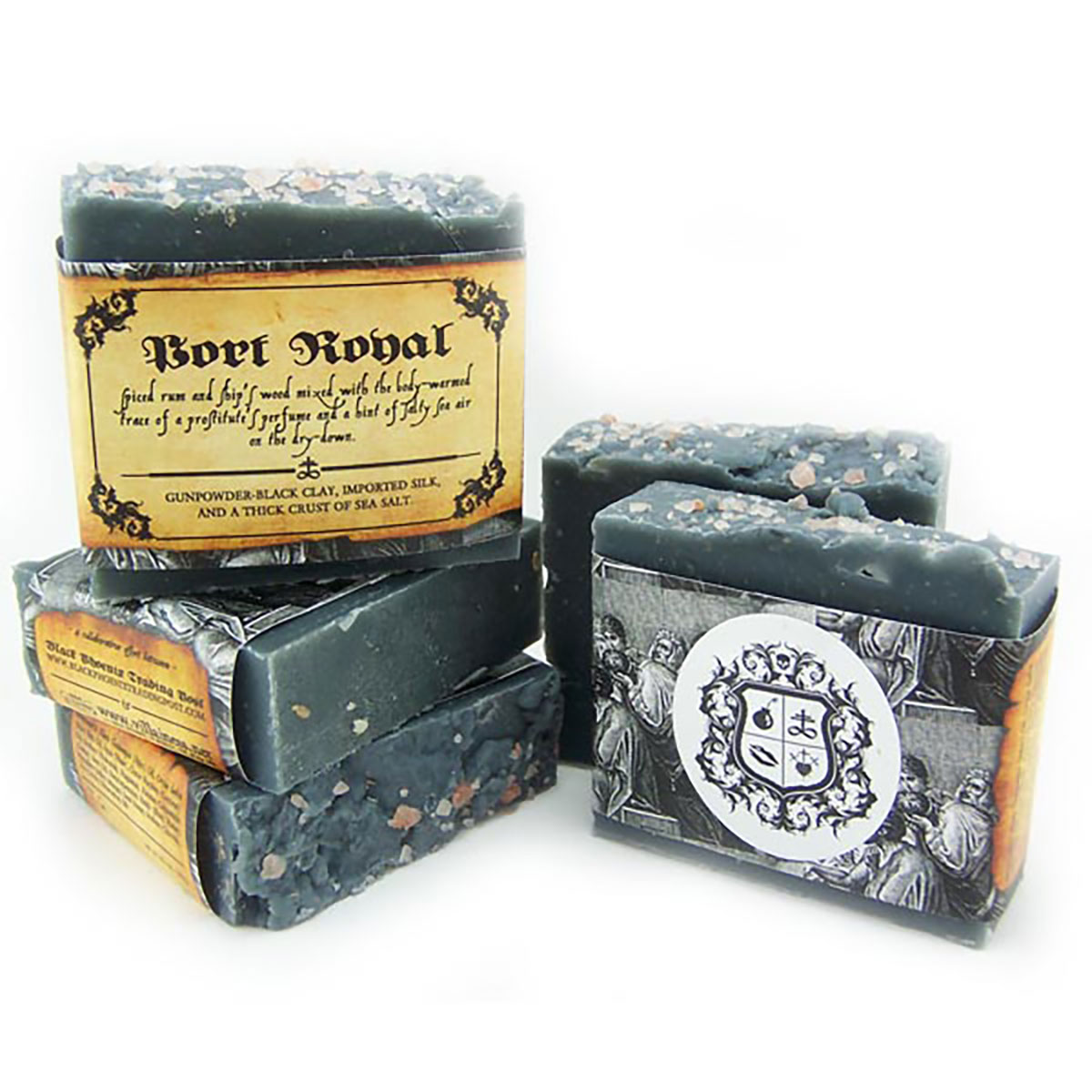 Black Phoenix Trading Post and Villainess Soaps Collaboration - Port Royal