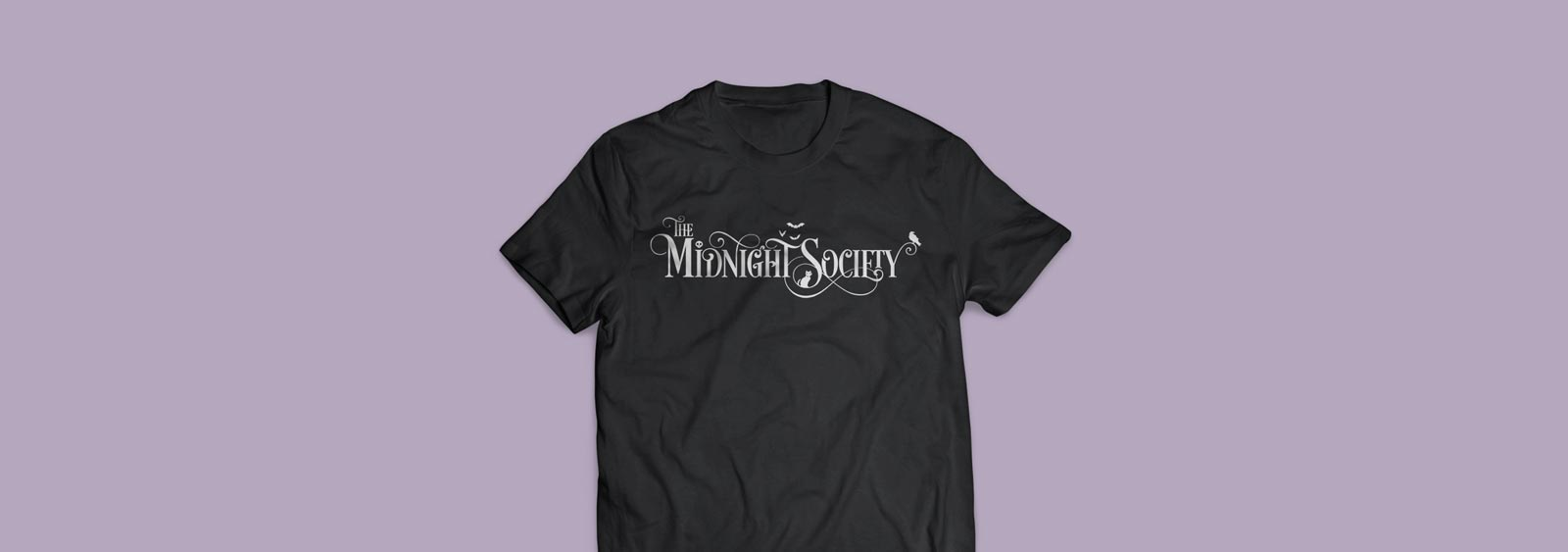 The Midnight Society logotype design by Noisy Ghost Co.