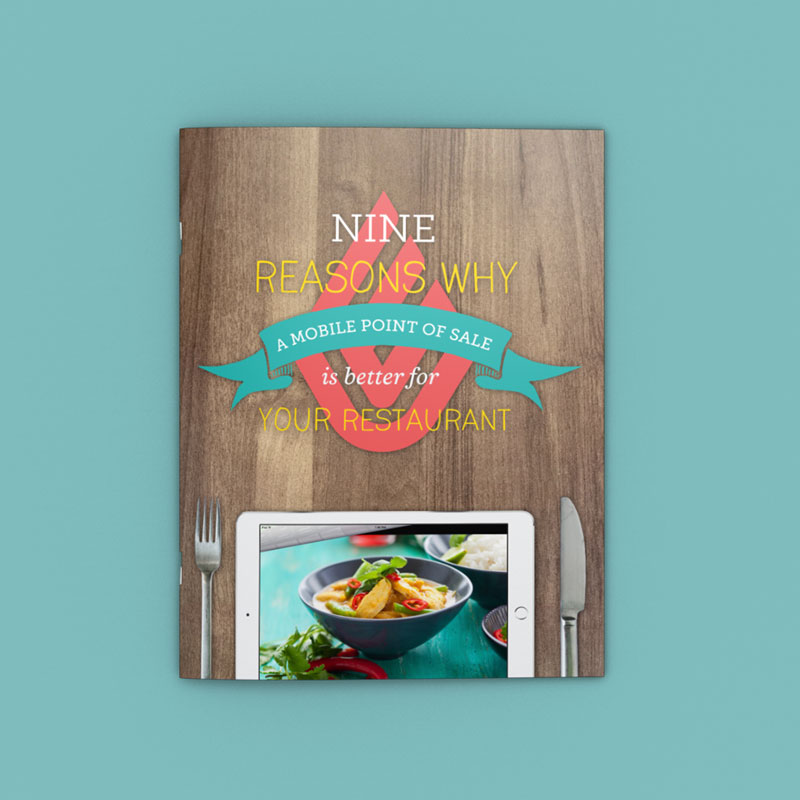Lightspeed Restaurants Whitepaper Design by Noisy Ghost Co.
