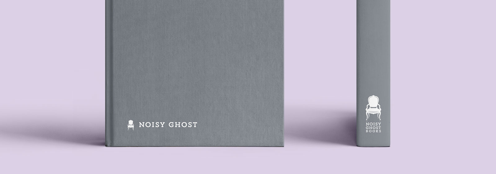 Noisy Ghost Books Brand Design