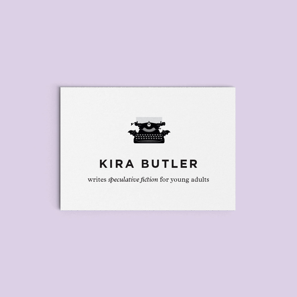 Kira Butler Author Brand Design
