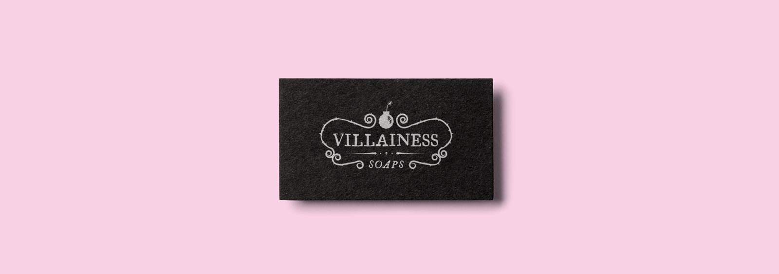 Villainess Soaps Brand Design by Noisy Ghost Co.