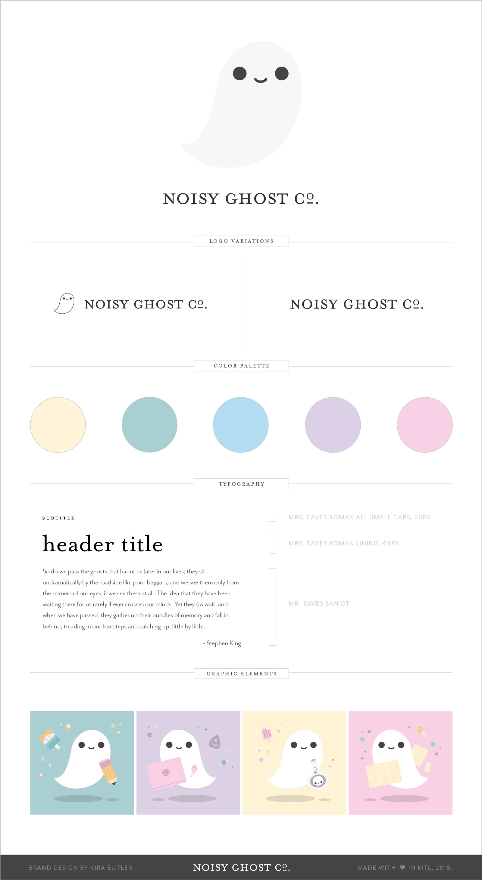 Noisy Ghost Co. Brand and Style Guide