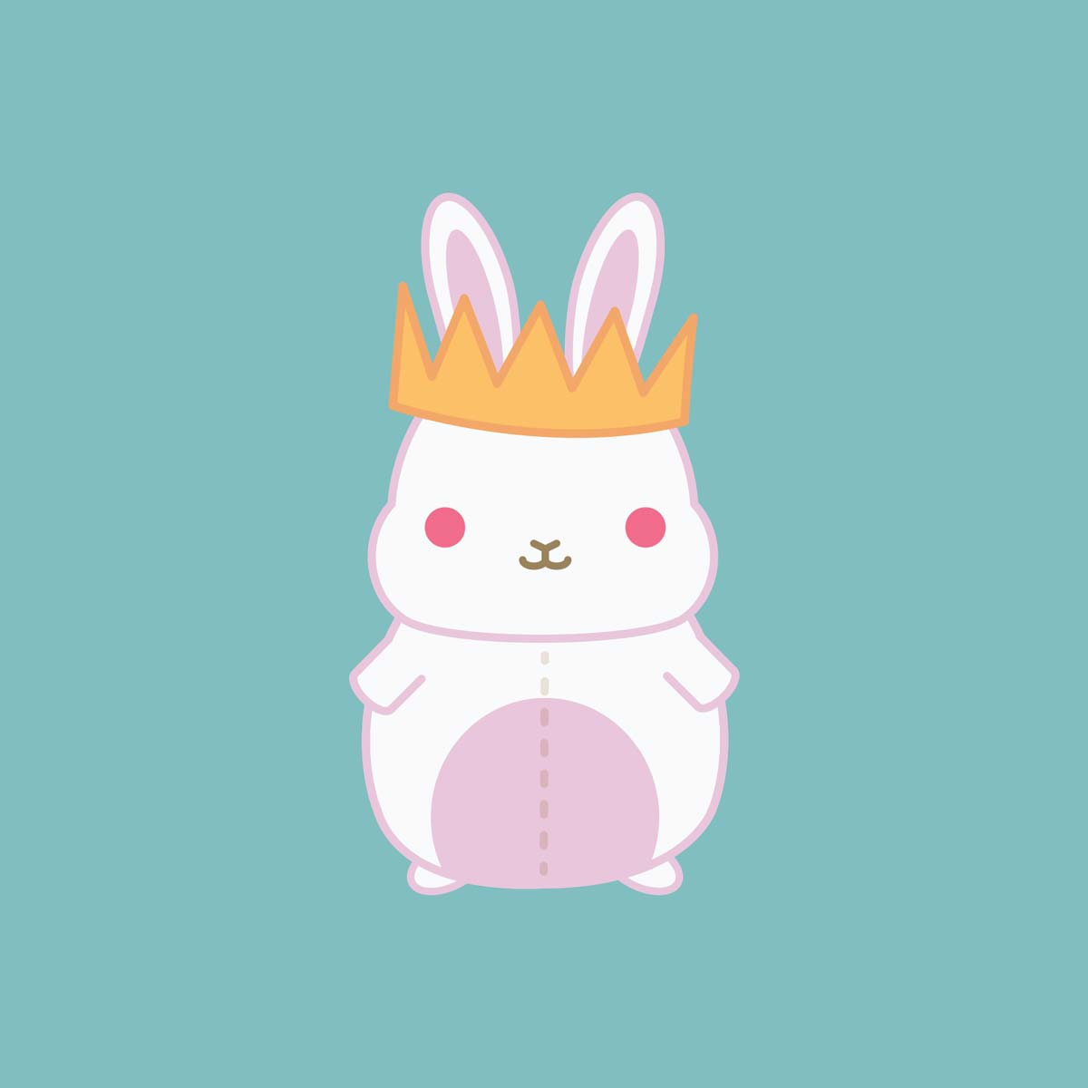 Graphic Design for Ackerly Green Publishing: King Bunny